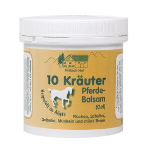 10 zelišč konjski gel