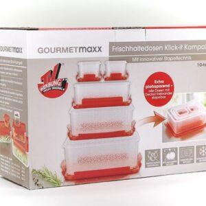 Gourmetmaxx 10-delni set posodic za shranjevanje KLIK
