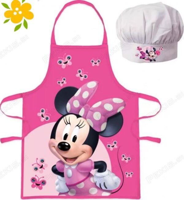 otroški predpasnik Minnie Mouse