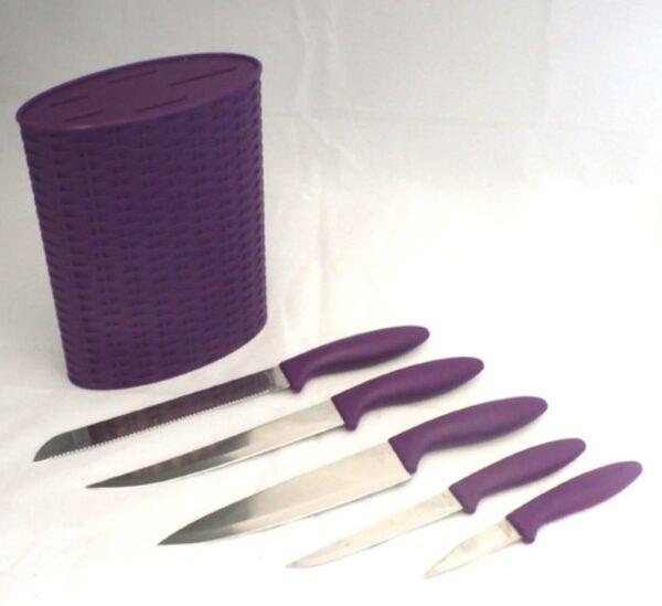 6-delni komplet kuhinjskih nožev